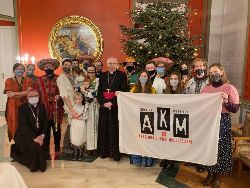 [sprawozdanie] Coroczne kolędowanie AKM-u u Biskupa!